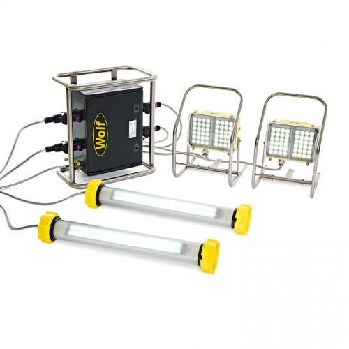 Lighting Portable & Temporary Hazardous Area