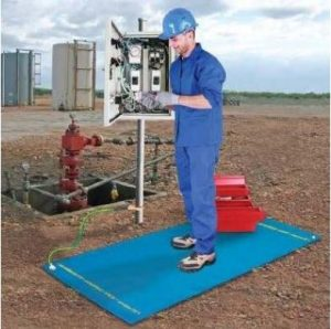 EPR Safety Mat in action